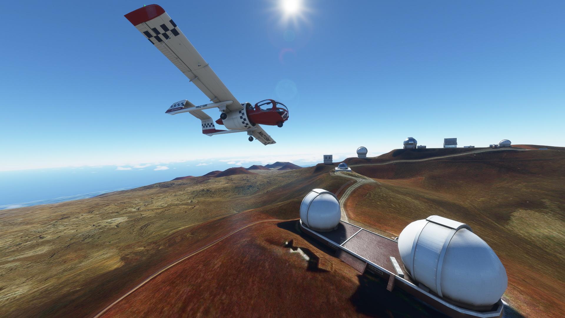 Microsoft Flight Simulator Ea 7 Edgely Optica 5 flight gameplay