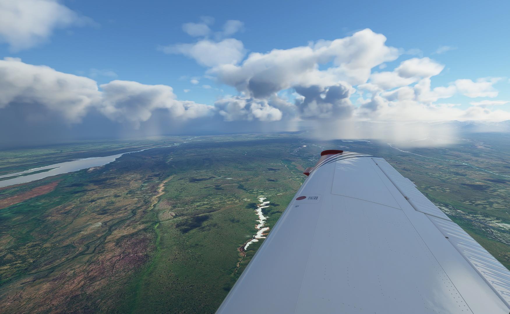 Microsoft Flight Simulator Beechcraft Bonanza Alaska 1