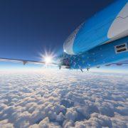 Microsoft Flight Simulator Cessna Citation Over Alaska