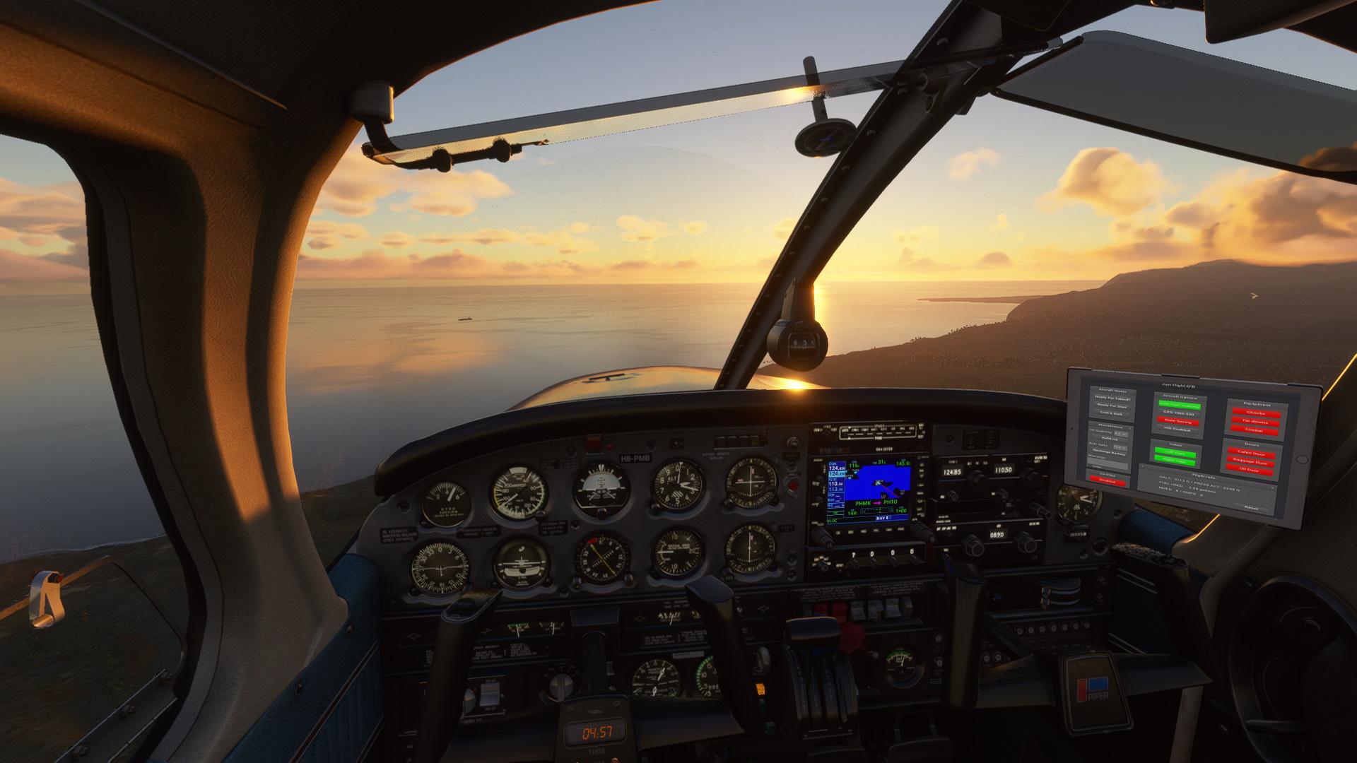 cockpit microsoft flight simulator