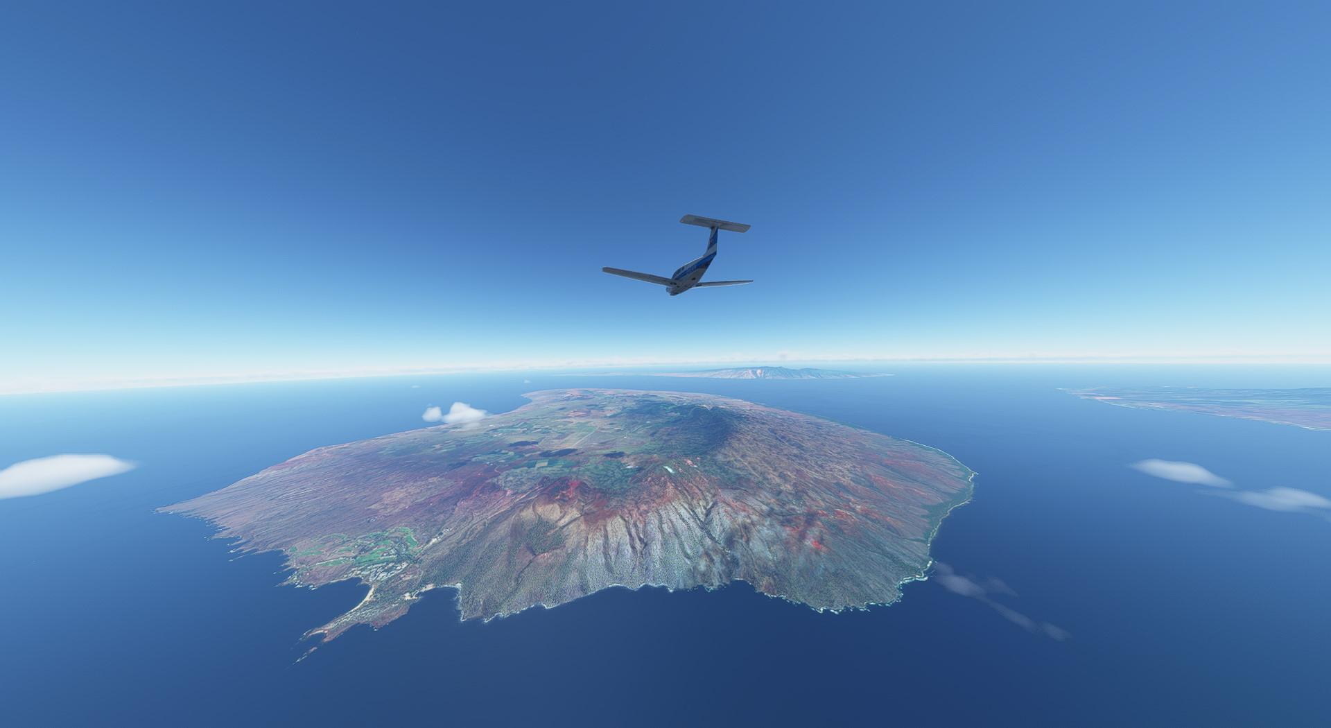 Microsoft Flight Simulator Just Flight Piper Turbo Arrow Iii Iv Hawaii Volcano Island