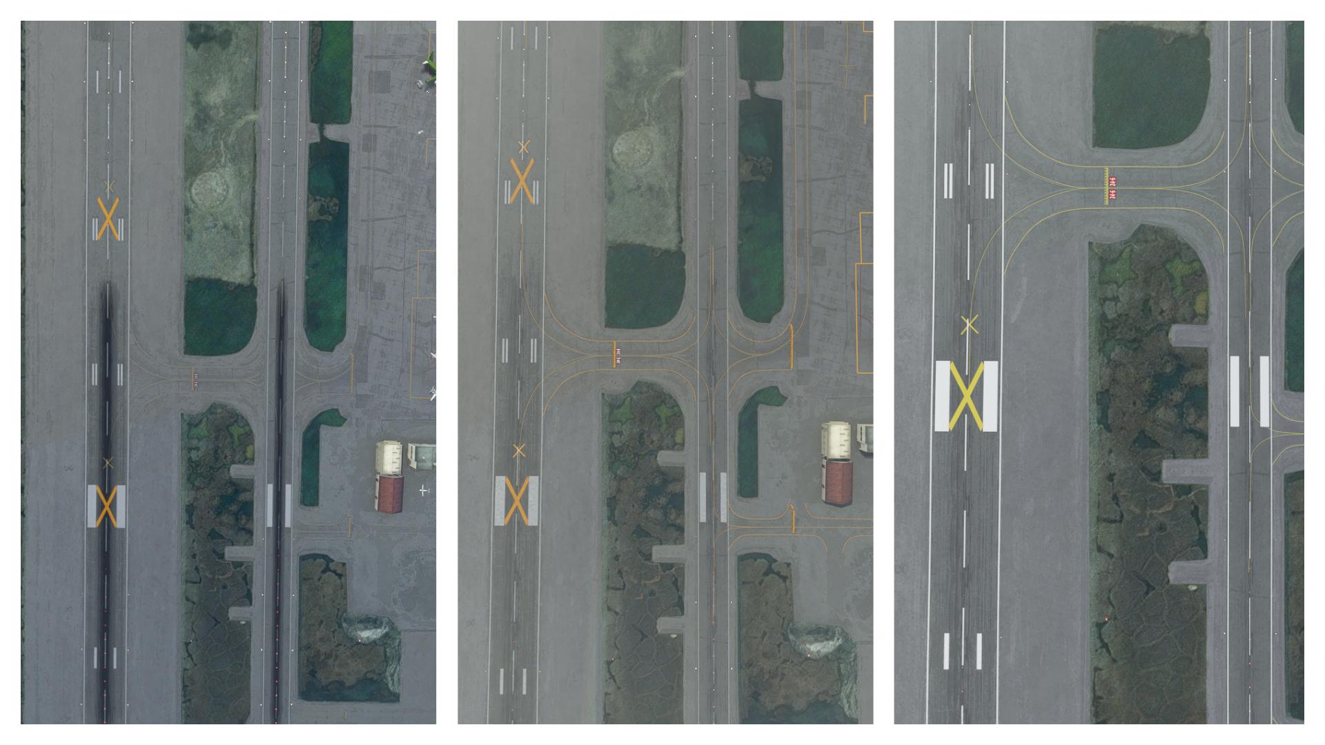 Microsoft Flight Simulator Rex Global Airport Textures Comparison 2