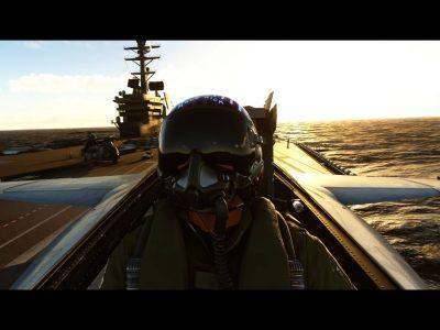 Microsoft Flight Simulator Top Gun Maverick Dlc