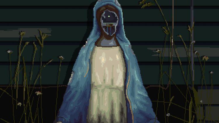 Robot Virgin Mary