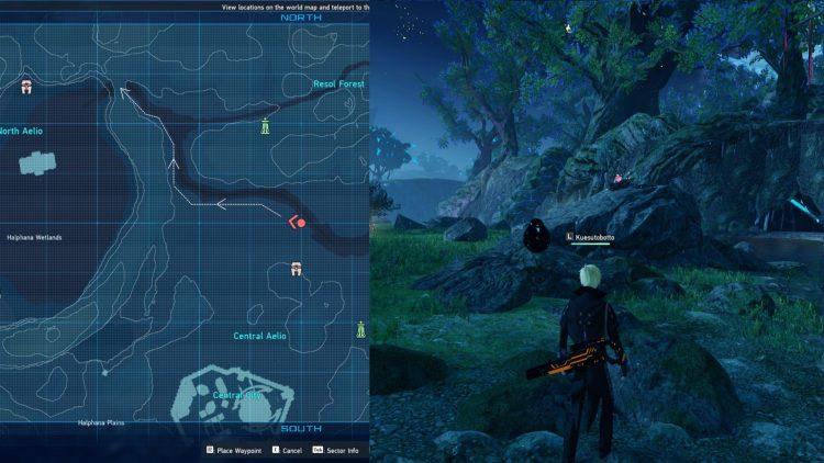 Pso2 New Genesis Monotite Farm Location 1