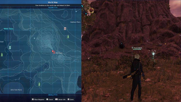 Pso2 New Genesis Monotite Farm Location 2
