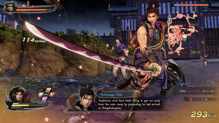 Samurai Warriors 5 Preview nobunaga oda gameplay combat