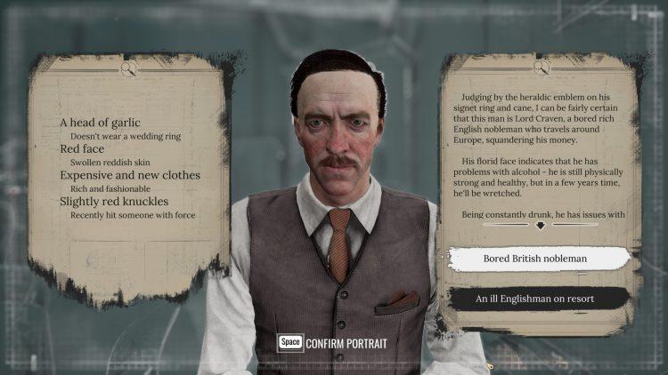 Sherlock Holmes Chapter One - Portrait