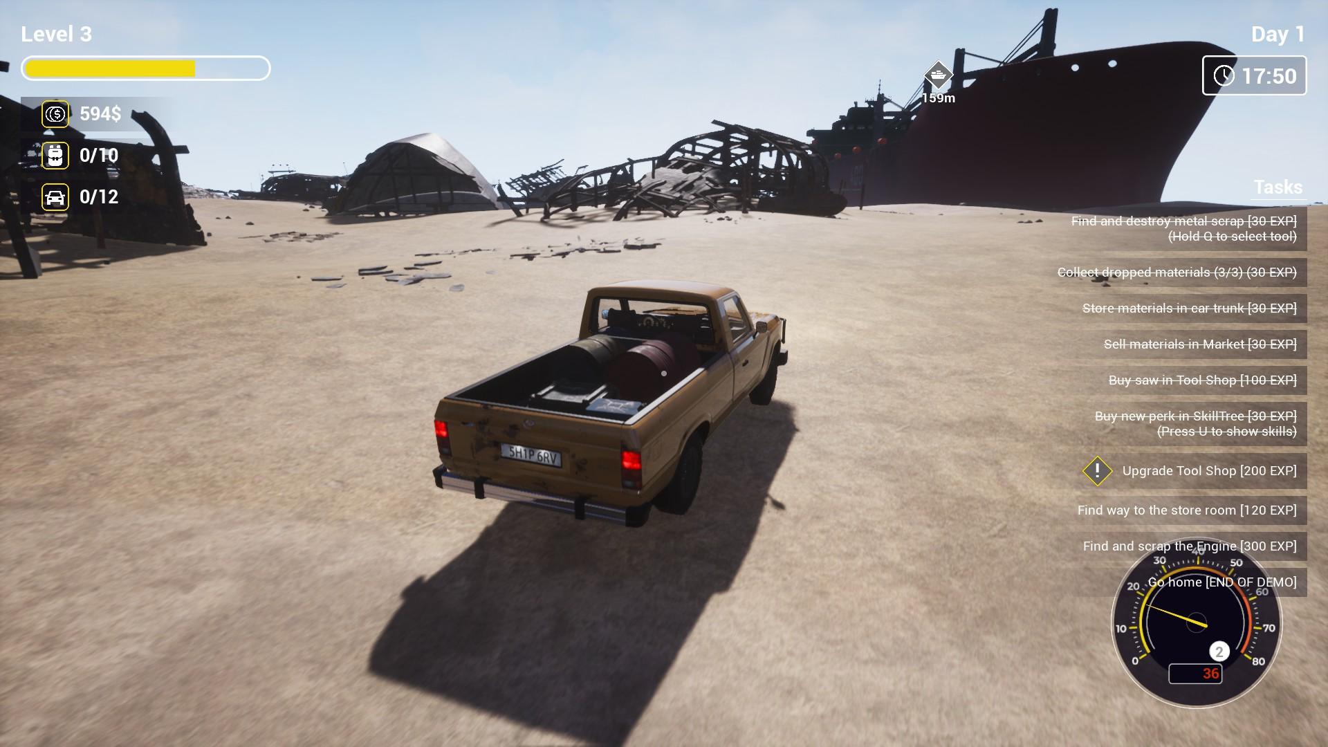 Ship Graveyard Demo Demo 2