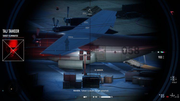 Снайперские контракты с воином-призраком 2 Gwc 2 Руководство по выполнению заданий в Маладх Вади 2c
