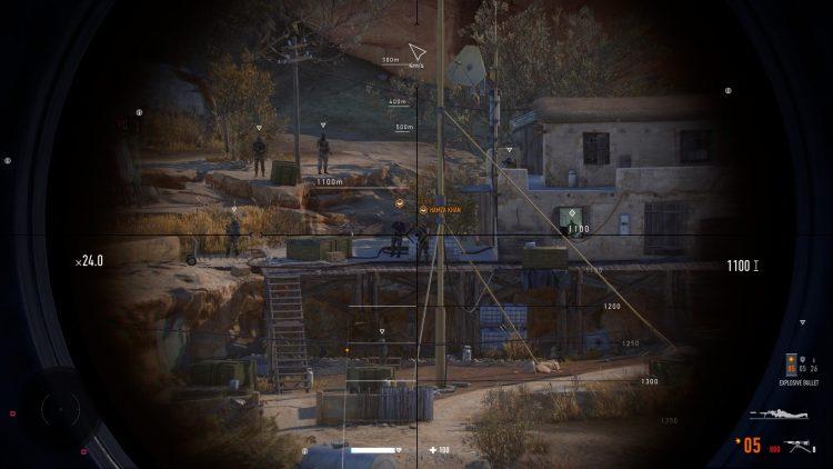 Sniper Ghost Warrior Contracts 2 Gwc 2 Tajmid Heights Миссии Руководство по испытаниям 3b