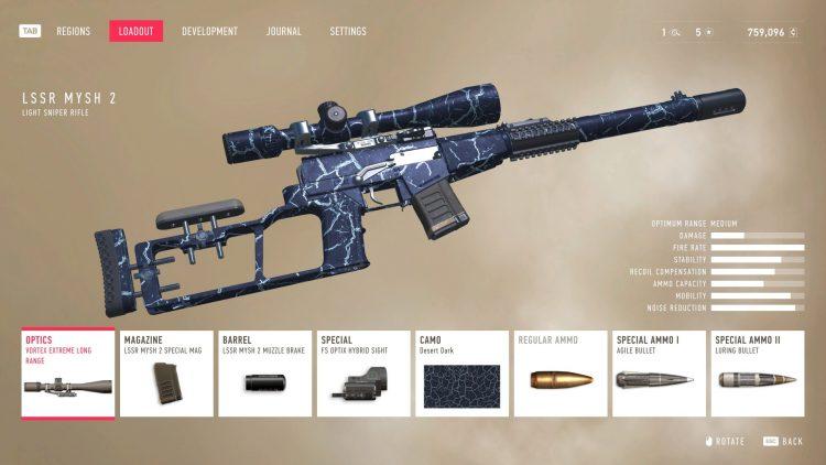 Снайперский воин-призрак контракты 2 Gwc 2 Лучшее оружие Лучшая снайперская винтовка Перки Навыки 1c
