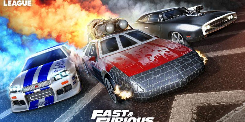 Rocket League Fast & Furious DLC
