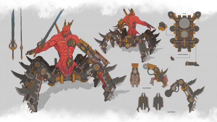 Total War Warhammer Iii Total War Warhammer 3 Khorne Full Unit Roster Reveal 3