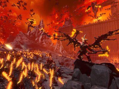 Total War Warhammer Iii Warhammer 3 Khorne Skarbrand Announcement Warhammer Ii Warhammer 2 Silence And Fury Oxyotl Taurox