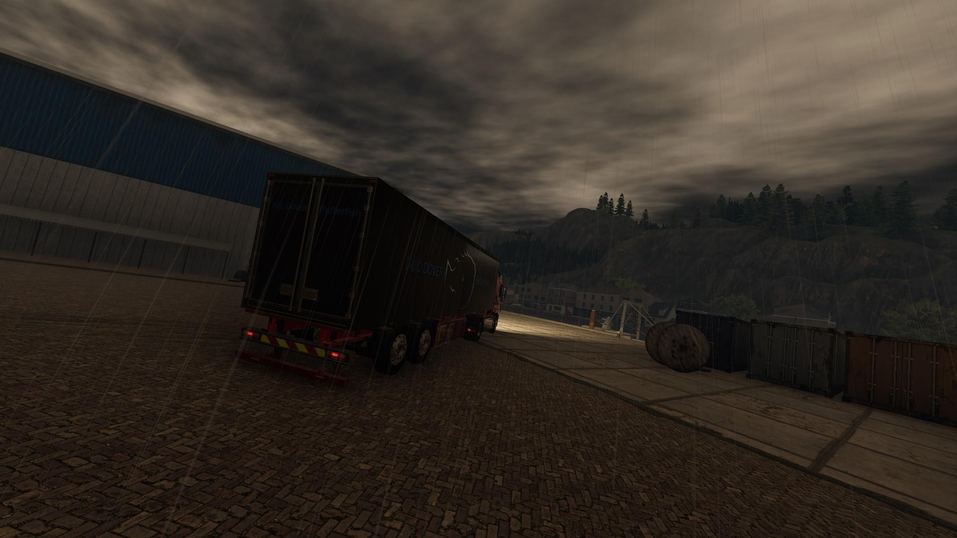 Truck Driver Pc Menacing Storms gameplay rain review