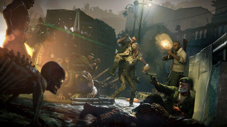 Zombie Army 4 Left 4 Dead 2 экшн