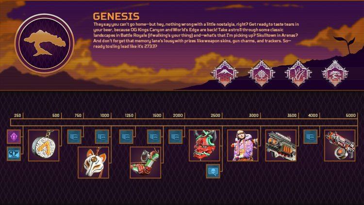 Apex Legends Genesis Collection Event Rewards