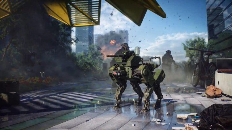 Battlefield 2042 Reveal E3 2021 Robo Dog
