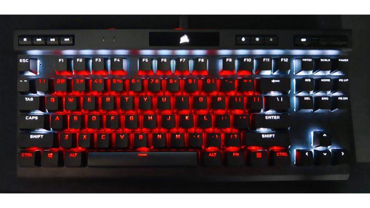 Corsair K70 Tkl Rgb Pro Champion Series 2021 Mechanical Keyboard Box Lighting