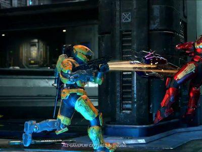 E3 2021 Halo Infinite Multiplayer gameplay