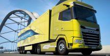 Euro Truck Simulator Daf Trucks Trailer
