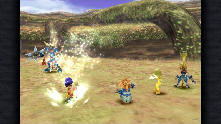 Final Fantasy Ix телевизионная адаптационная битва