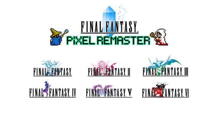 Final Fantasy Pixel Remaster release date