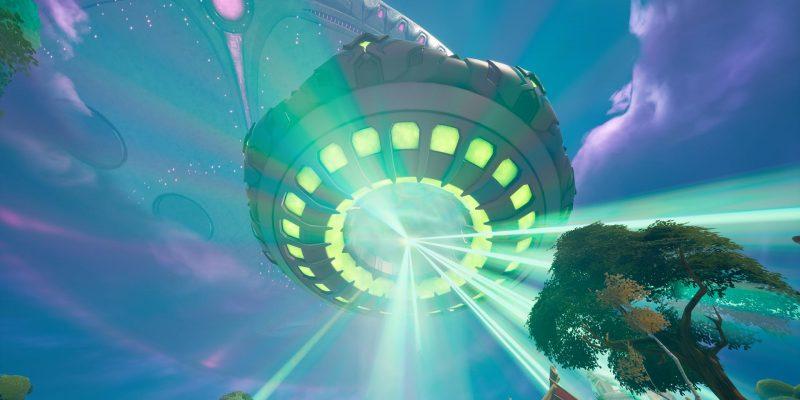 Fortnite Alien Mothership Chest Reward Gold Abduction Win 2