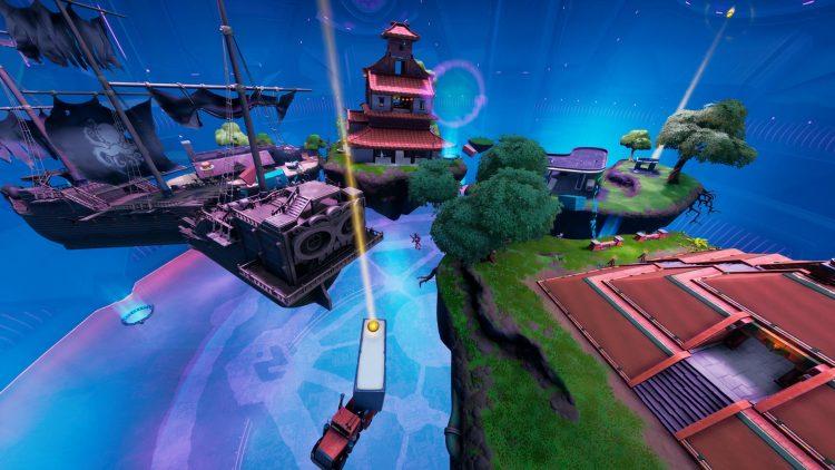 Fortnite Map Alien Mini Game