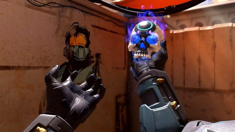 Halo Infinite Cosmetics Spray Oddball