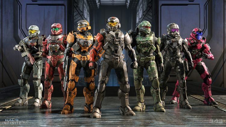 Halo Infinite Multiplayer Details pro teams