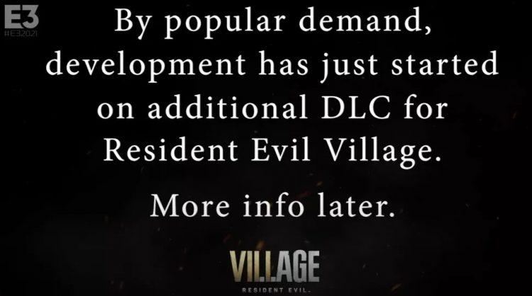 Resident Evil Village Dlc Reverse Launch Date
