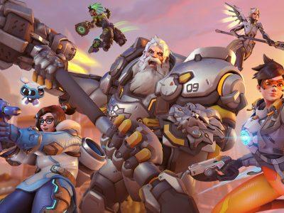 Overwatch cross-play group shot