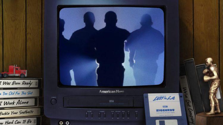 American Hero Atari Jaguar silhouettes