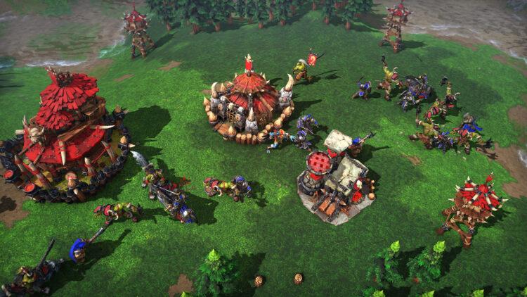 Warcraft 3 Reforged Blizzard town