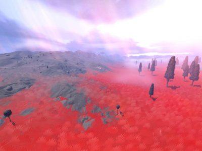 JETT: The Far Shore trailer red landscape
