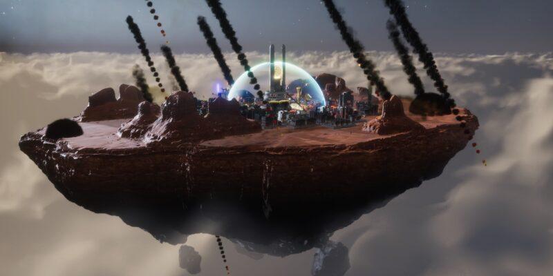 Sphere - Flying Cities announced meteors