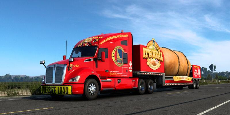 American Truck Simulator Idaho Giant Potato