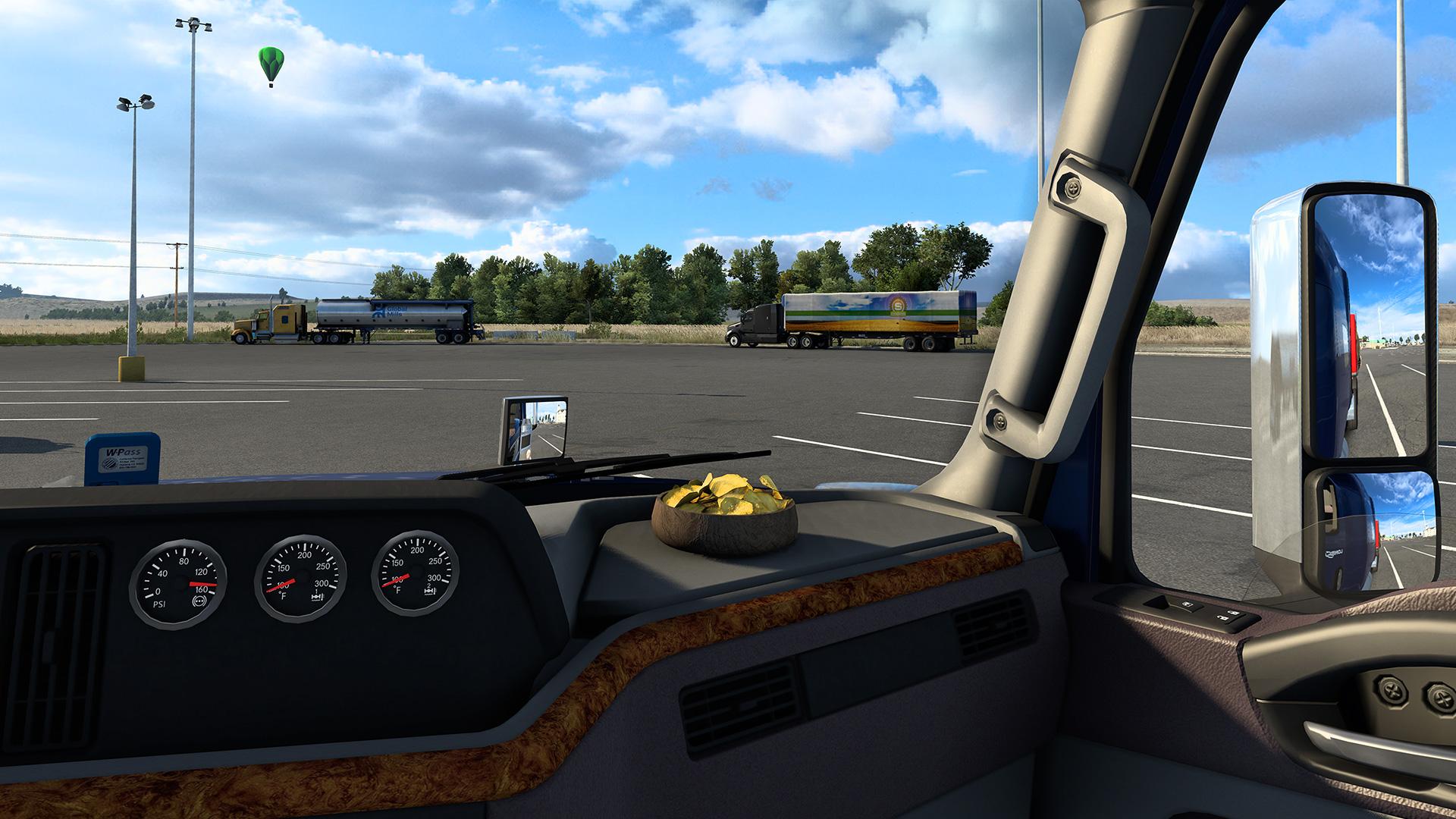 American Truck Simulator Idaho Potato Chips