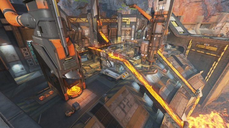 Apex Legends Overflow Arena Map