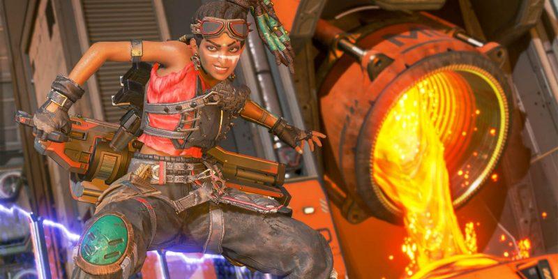 Apex Legends Thrillseekers Event Rampart Skin