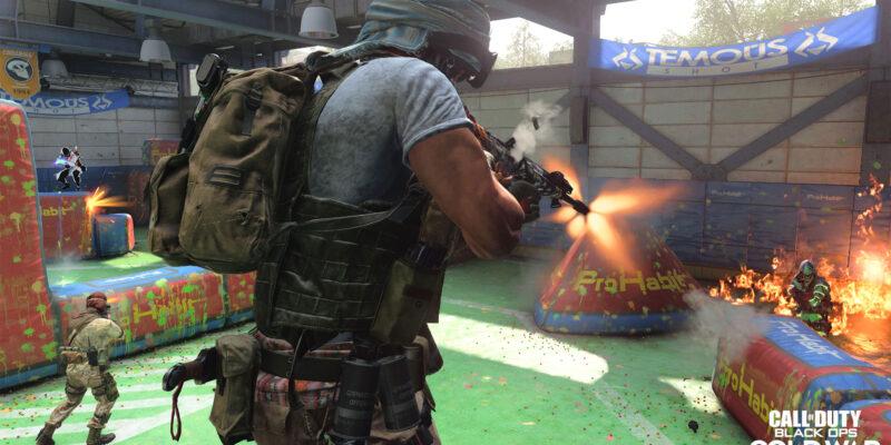 Black Ops Cold War Rush Mg36