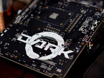 Evga Ryzen Dark Series Motherboard Tease