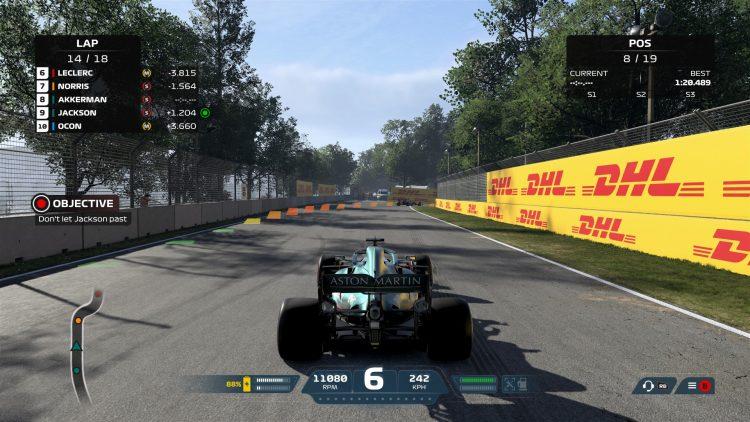 F1 2021 Руководство по точкам торможения Сюжетный режим Цели гонки Эйден Джексон Каспер Аккерман 2a