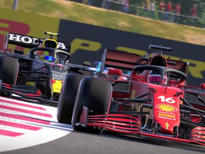 F1 2021 Patch 1.05 Ferrari Red Bull Race