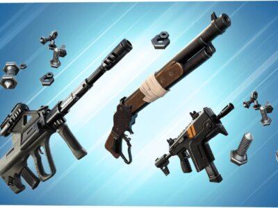 Fortnite Grab Itron Weapon