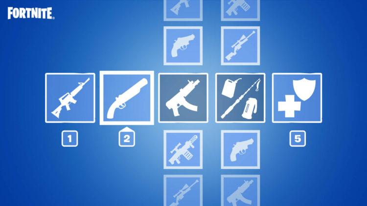 Fortnite Patch preferred item slots