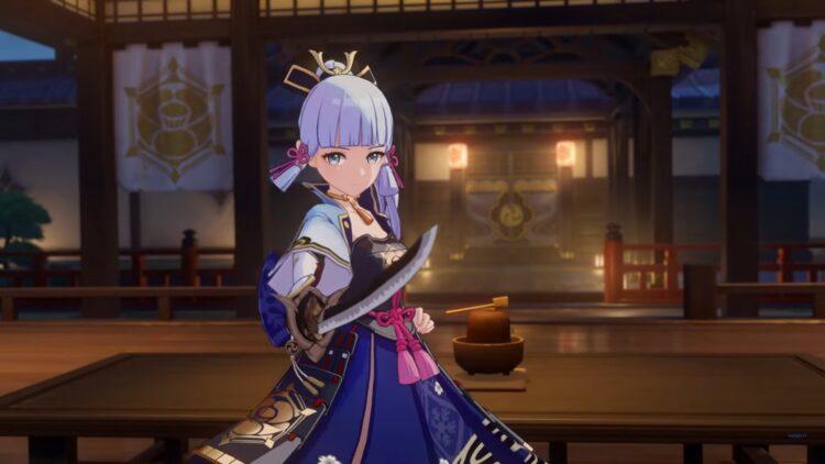 Genshin Impact Руководство по Аяке Оружие Артефакты Таланты Build Mistsplitter Reforged 2