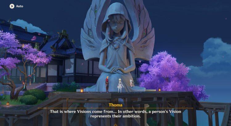 Genshin Impact Inazuma Archon Quest Guide Акт I Неподвижный Бог и Вечная Евфимия 1a
